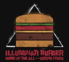 Illuminati Burger by odysseyroc