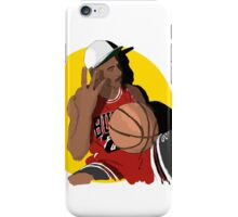 Michael Jordan Bulls ThreePeat iPhone Case/Skin