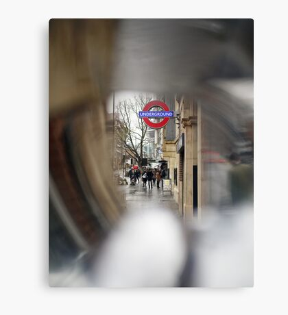 Aldgate East, London Canvas Print