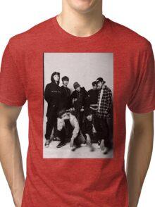 BTS COOL 当代歌坛- Black Tri-blend T-Shirt