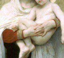 Divine and Child Sticker