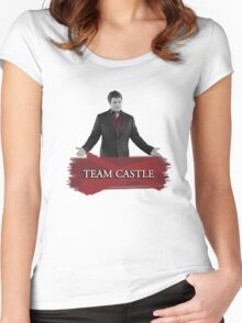 Team Castle Women's Fitted Scoop T-Shirt