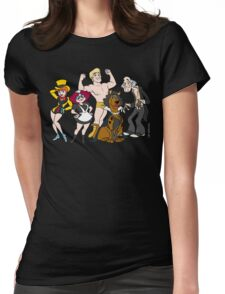 Midnight with the gang Womens Fitted T-Shirt