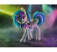 Vinyl Scratch / DJ Pon3 Photographic Print