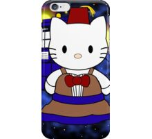 11th Doctor Who Kitty iPhone Case/Skin