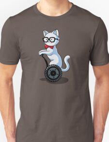 White and Nerdy Unisex T-Shirt