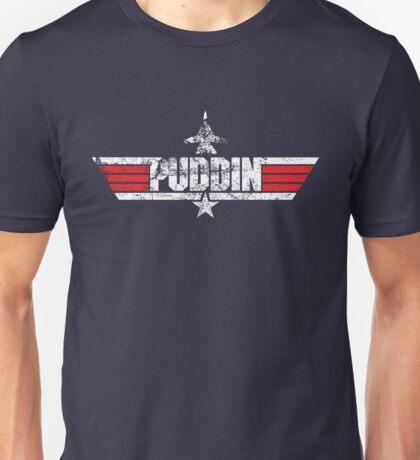 Custom Top Gun Style - Puddin Unisex T-Shirt
