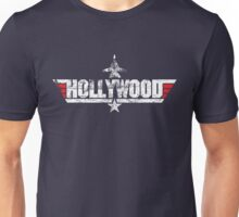 Custom Top Gun Style - Hollywood Unisex T-Shirt