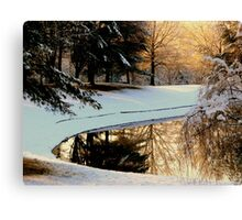 Winter Reflections   ^ Canvas Print