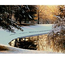 Winter Reflections   ^ Photographic Print