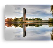 Which Way Up National Carillon Canberra Canvas Print