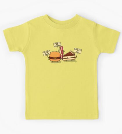 Occupy Stomach Kids Tee