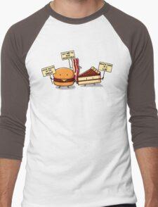 Occupy Stomach Men's Baseball ¾ T-Shirt