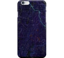 USGS TOPO Map New Hampshire NH North Grantham 329727 1998 24000 Inverted iPhone Case/Skin