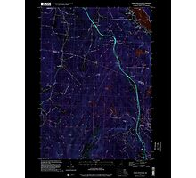 USGS TOPO Map New Hampshire NH North Grantham 329727 1998 24000 Inverted Photographic Print