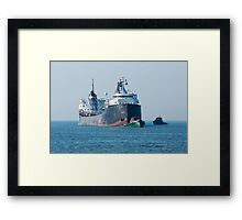 A Little Help From The Small Boats Framed Print