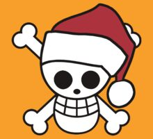 Luffy - Christmas themed Jolly Roger by Braden  Stevenson