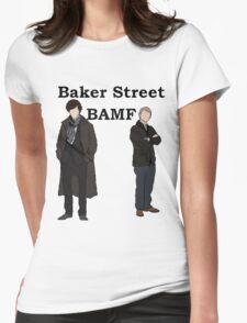 Baker Street BAMF Womens Fitted T-Shirt