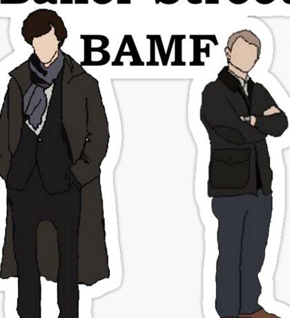 Baker Street BAMF Sticker