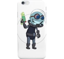Mr Freeze heats things up iPhone Case/Skin