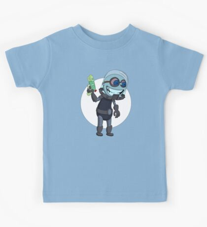 Mr Freeze heats things up Kids Tee