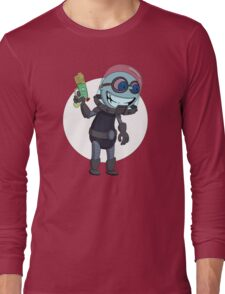 Mr Freeze heats things up Long Sleeve T-Shirt