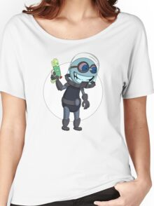 Mr Freeze heats things up Women's Relaxed Fit T-Shirt