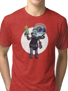 Mr Freeze heats things up Tri-blend T-Shirt