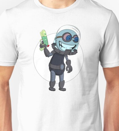 Mr Freeze heats things up Unisex T-Shirt