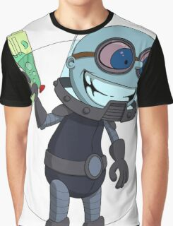 Mr Freeze heats things up Graphic T-Shirt