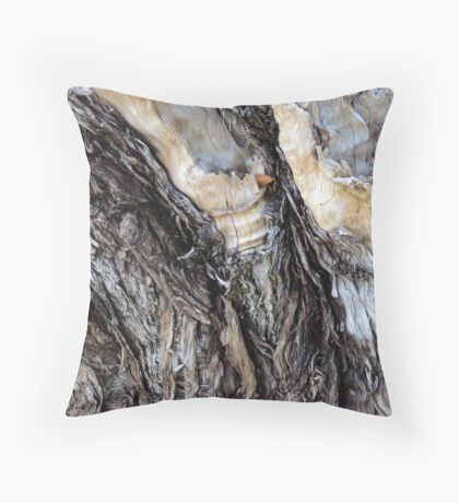 One Leaf Throw Pillow