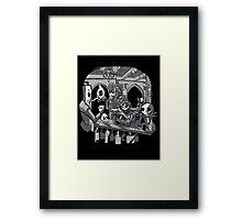 Skull Pub Framed Print