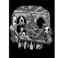 Skull Pub Photographic Print
