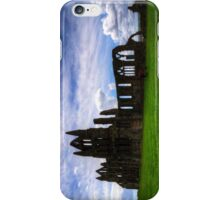 Whitby Abbey Ruin iPhone Case/Skin