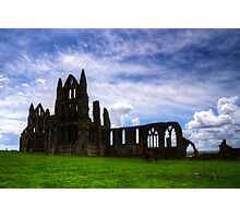 Whitby Abbey Ruin Photographic Print