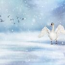 It's snowing by AnnieSnel