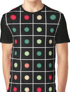 Dotted grid Graphic T-Shirt