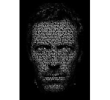 House MD made with text Photographic Print