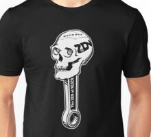 ZON Skull (white ink) Unisex T-Shirt