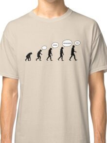 99 Steps of Progress - Language Classic T-Shirt