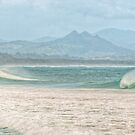 Misty Seascape - Byron Bay by Cheryl Styles