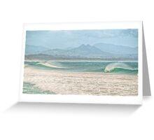 Misty Seascape - Byron Bay Greeting Card