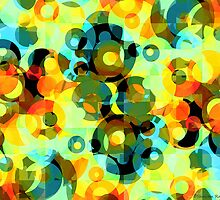 Circles Squared 2 by MSRowe Art and Design