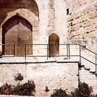 Entrance to King David's Tower, Jerusalem by Shulie1