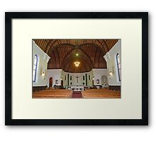Our Lady of the Rosary * Taree Australia Framed Print