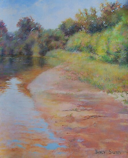 Louisiana River Print by js1231