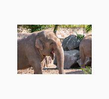 Close up of an Asian Elephant face Unisex T-Shirt