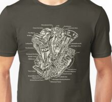 Detroit POWER! (army) Unisex T-Shirt