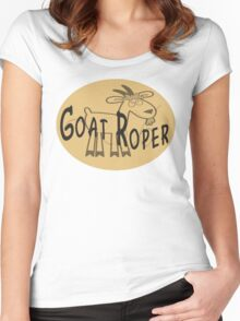 Goat Roper Women's Fitted Scoop T-Shirt