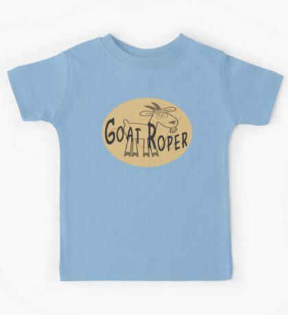 Goat Roper Kids Tee